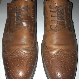 Stacy Adams Wingtip Shoes size 11.5